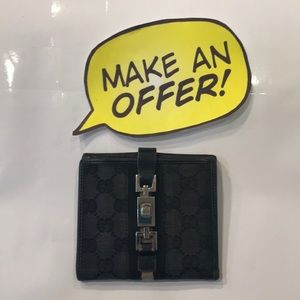 Gucci Bi-Fold Wallet. Black
